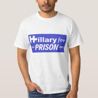 Hillary For Prison 2016! DON'T DELETE-NOT HER LOGO T-Shirt