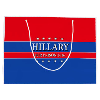 """HILLARY FOR PRISON 2016"" LARGE GIFT BAG"