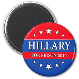 """HILLARY FOR PRISON 2016"" MAGNET"