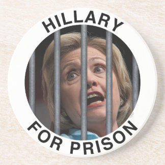 Hillary for Prison Drink Coasters