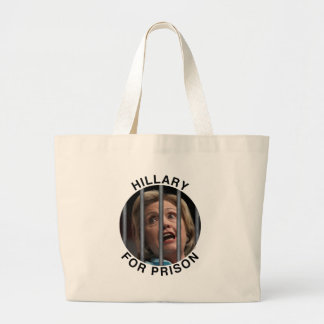 Hillary for Prison Jumbo Tote Bag