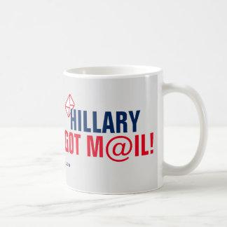 Hillary Got Mail! Basic White Mug