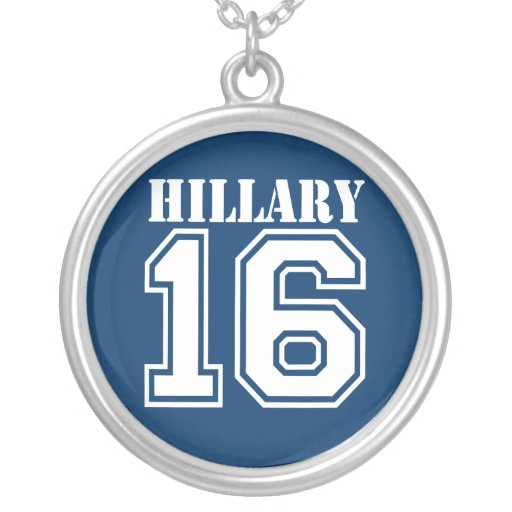 HILLARY IN 2016 NECKLACES