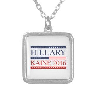 Hillary Kaine 2016 Square Pendant Necklace