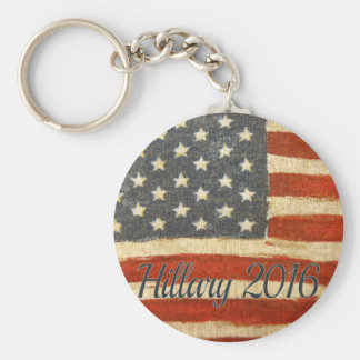 Hillary Mrs President Basic Round Button Key Ring