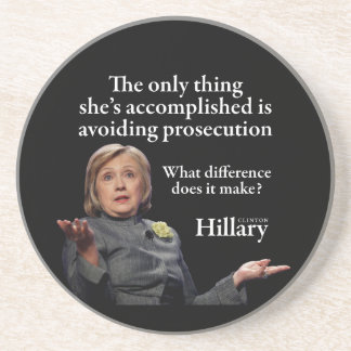 HILLARY ONLY THING SANDSTONE COASTER