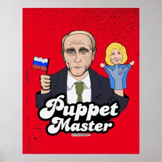 Hillary Puppet Master - Vladimir Putin Poster