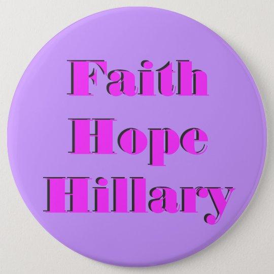 Hillary R Clinton 2016 6 Cm Round Badge