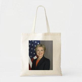Hillary Rodham Clinton Budget Tote Bag