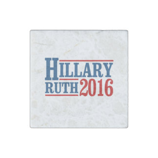 Hillary Ruth 2016 Stone Magnet