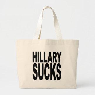 Hillary Sucks Jumbo Tote Bag
