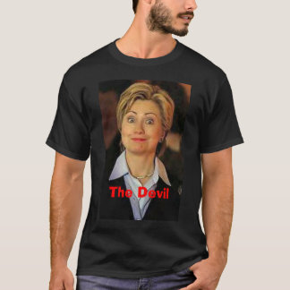 Hillary, The Devil T-Shirt