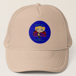 HILLARY THE LITTLE LADYBUG TRUCKER HAT