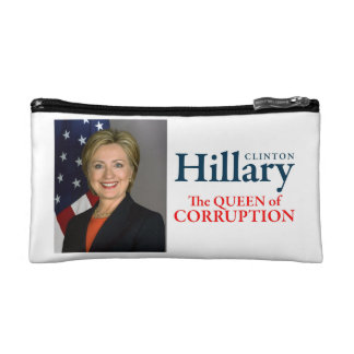HILLARY THE QUEEN COSMETIC BAG