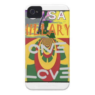 Hillary USA  Stronger Together Vote One Love For H iPhone 4 Covers