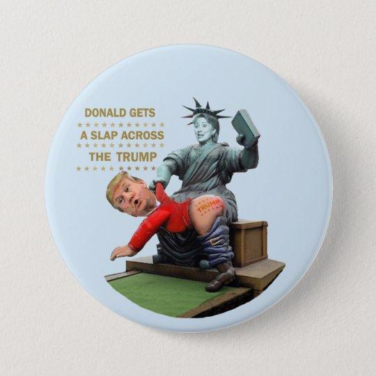 Hillary vs. Trump 7.5 Cm Round Badge