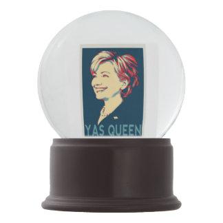 Hillary Yas Queen Snow Globe Snow Globes