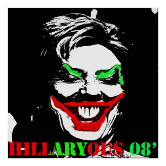 HILLARYOUS 08' #2 POSTER