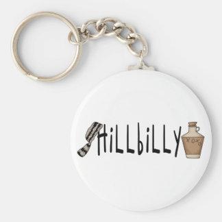 hillbilly basic round button key ring