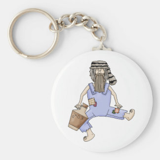 hillbilly drinking keychain