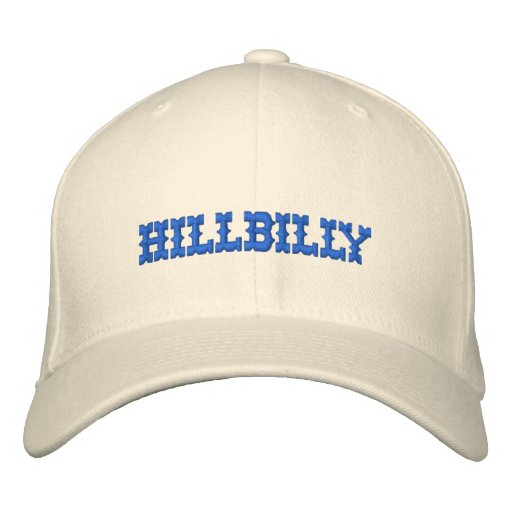 HILLBILLY EMBROIDERED HAT