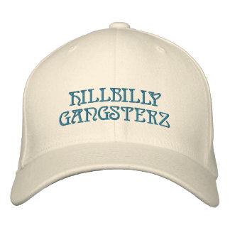 HILLBILLY GANGSTERZ EMBROIDERED BASEBALL CAP