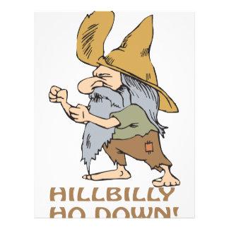HillBilly Ho Down Full Color Flyer