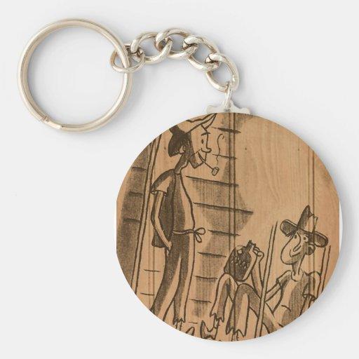 hillbilly home key chains