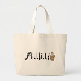 hillbilly jumbo tote bag