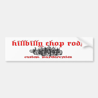 Hillbilly Sticker Bumper Sticker