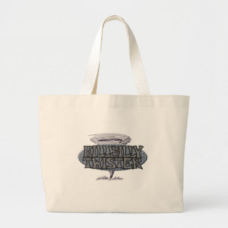 Hillbilly Twister Tote Bags