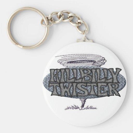 Hillbilly Twister Keychain