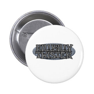 Hillbilly Twister Pinback Buttons