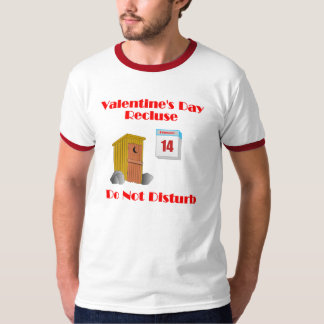 Hillbilly Valentine's Day  Recluse T-shirt