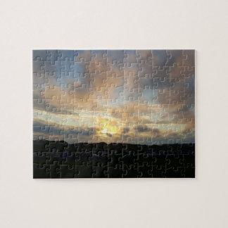 Hillend Campsite Sunset Photo Puzzle