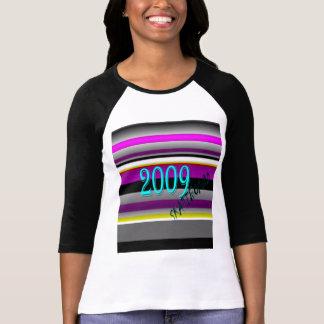 HILLMANIA SKATEBOARD - Ladies 2009 Rainbow shirt