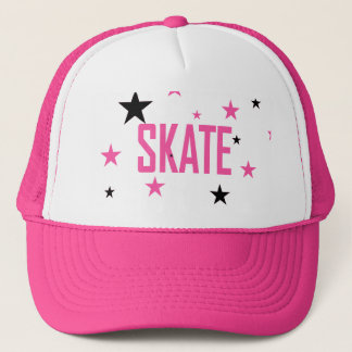 HILLMANIA SKATEBOARD - Ladies pink hat