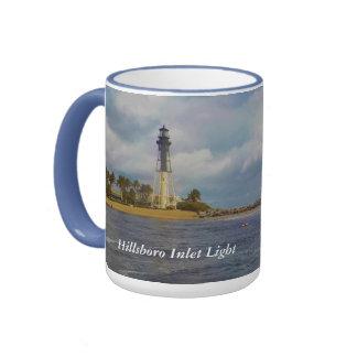 Hillsboro Inlet Light Custom Ringer Mug
