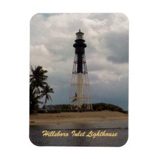 Hillsboro Inlet Light Tower Custom Rectangular Photo Magnet