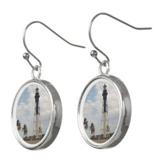 Hillsboro Inlet Light Tower Earrings