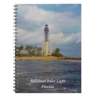 Hillsboro Inlet Light Travel Journal Notebooks