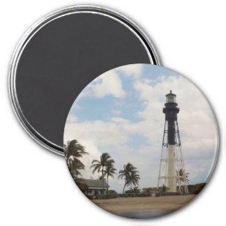 Hillsboro Inlet Lighthouse 7.5 Cm Round Magnet