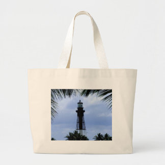 Hillsboro Inlet Lighthouse Large Tote Bag