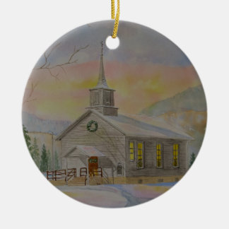Hillsgrove Union Church Christmas Ornament