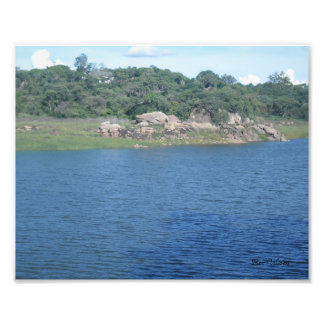 Hillside Dams Photographic Print