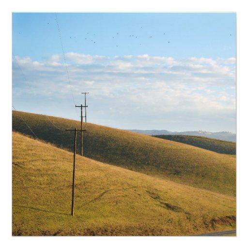 Hillside Landscape Photographic Print