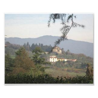 Hillside Near Pistoia, Italy Photo Print