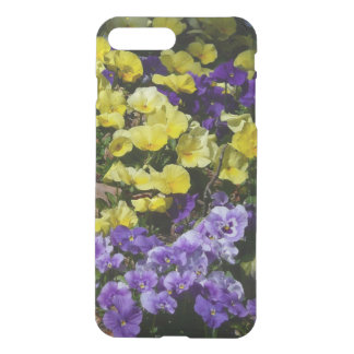 Hillside of Purple and Yellow Pansies iPhone 7 Plus Case