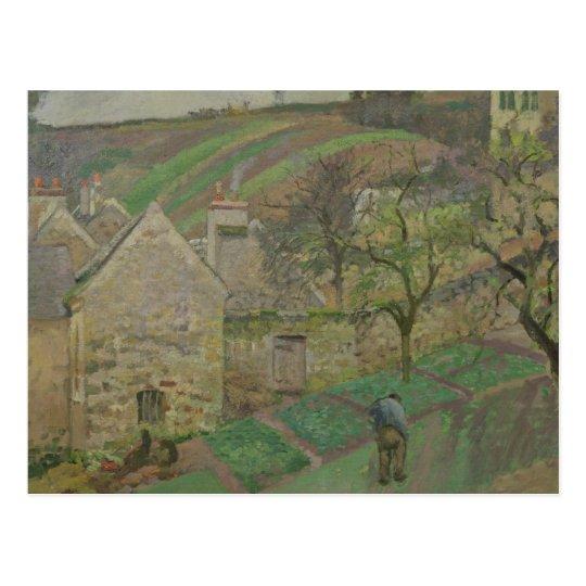 Hillside of the Hermitage, Pontoise, 1873 Postcard