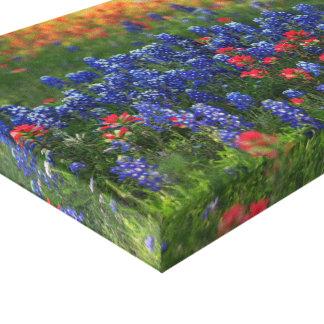 Hillside Wildflowers Canvas Print